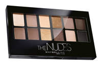 Maybelline New York The Nudes oogschaduwpalette, Bruin