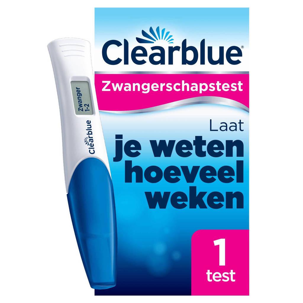 Clearblue digitale zwangerschapstest met conceptie indicator 1 stuk, 1 stuks