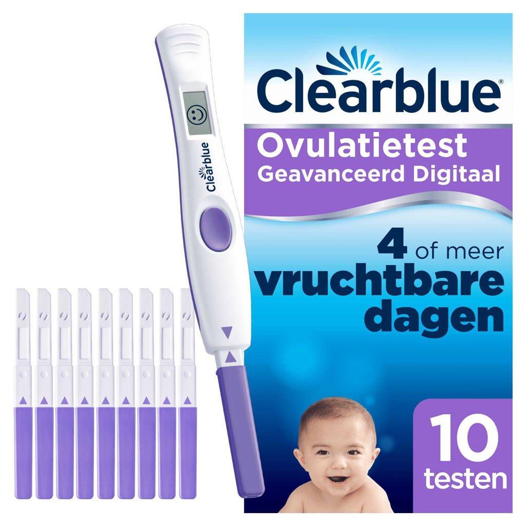 Clearblue digitale advanced ovulatietest 10 stuks