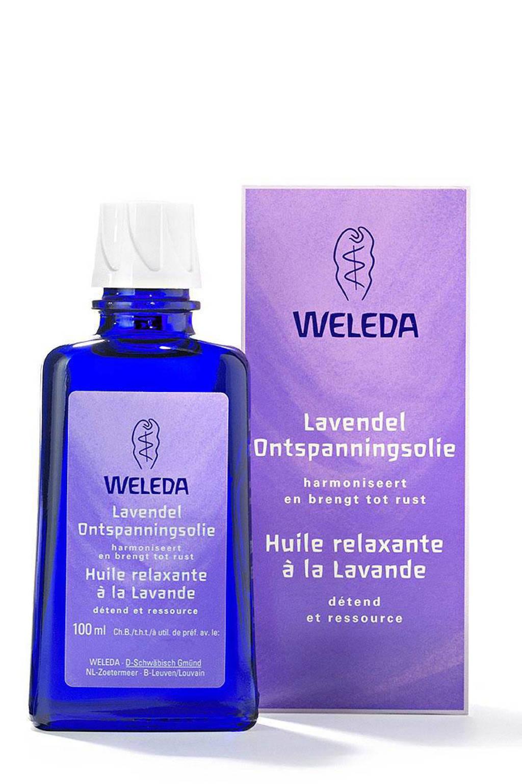 Weleda lavendel ontspanning bodyolie