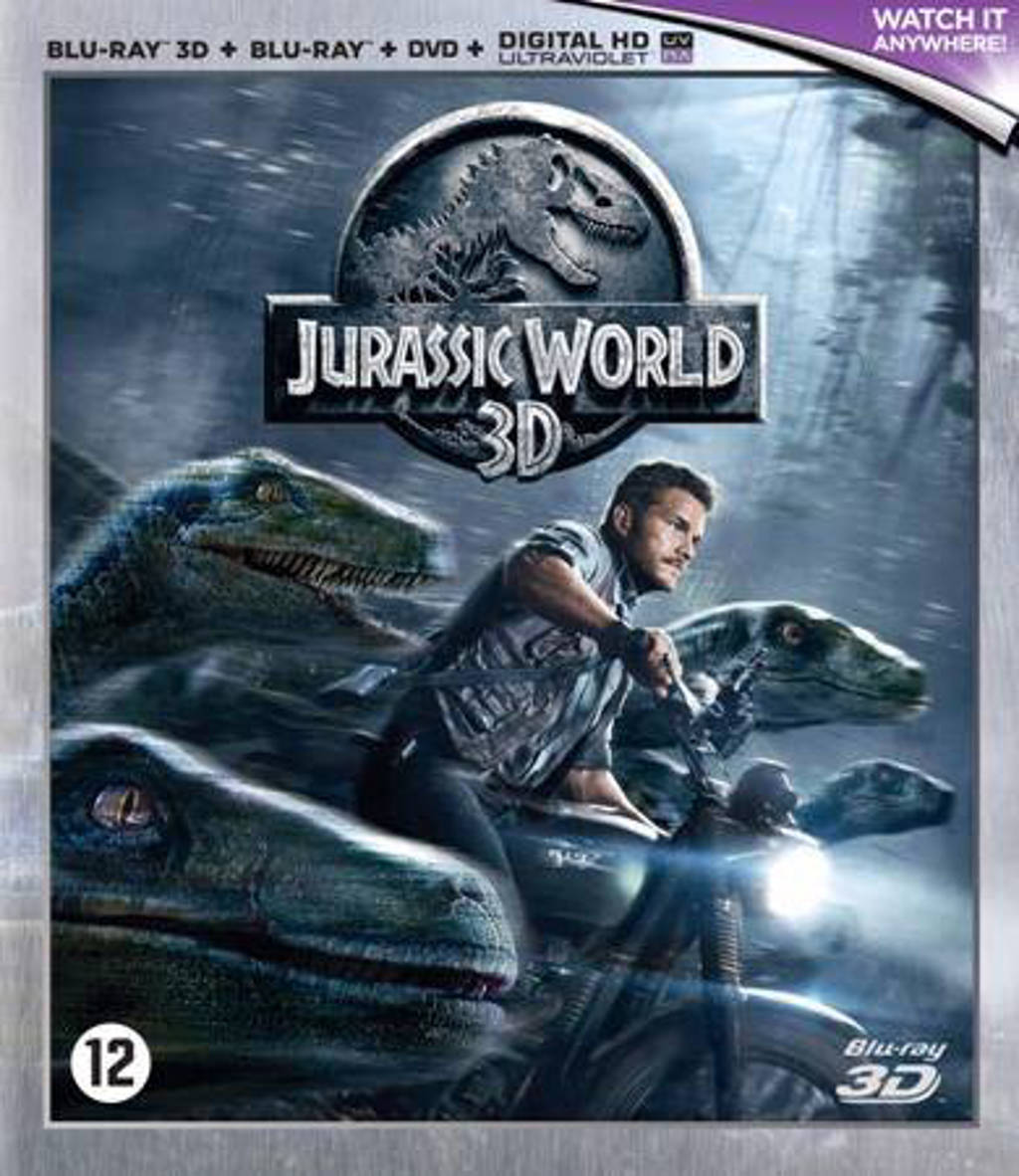 Jurassic world (3D) (Blu-ray)