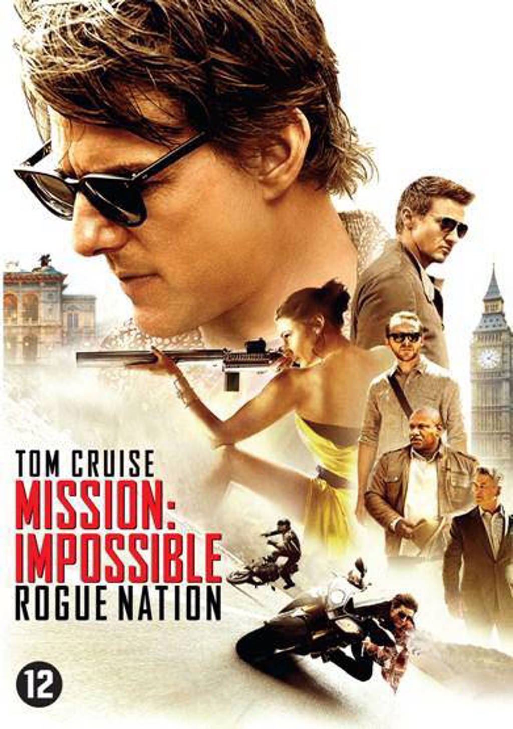 Mission impossible 5 - Rogue nation (DVD)
