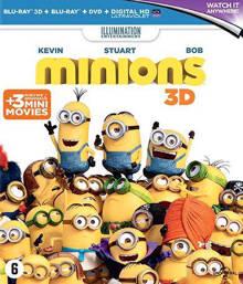 Minions (3D) (Blu-ray)