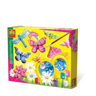 gips vlinders gieten en schilderen