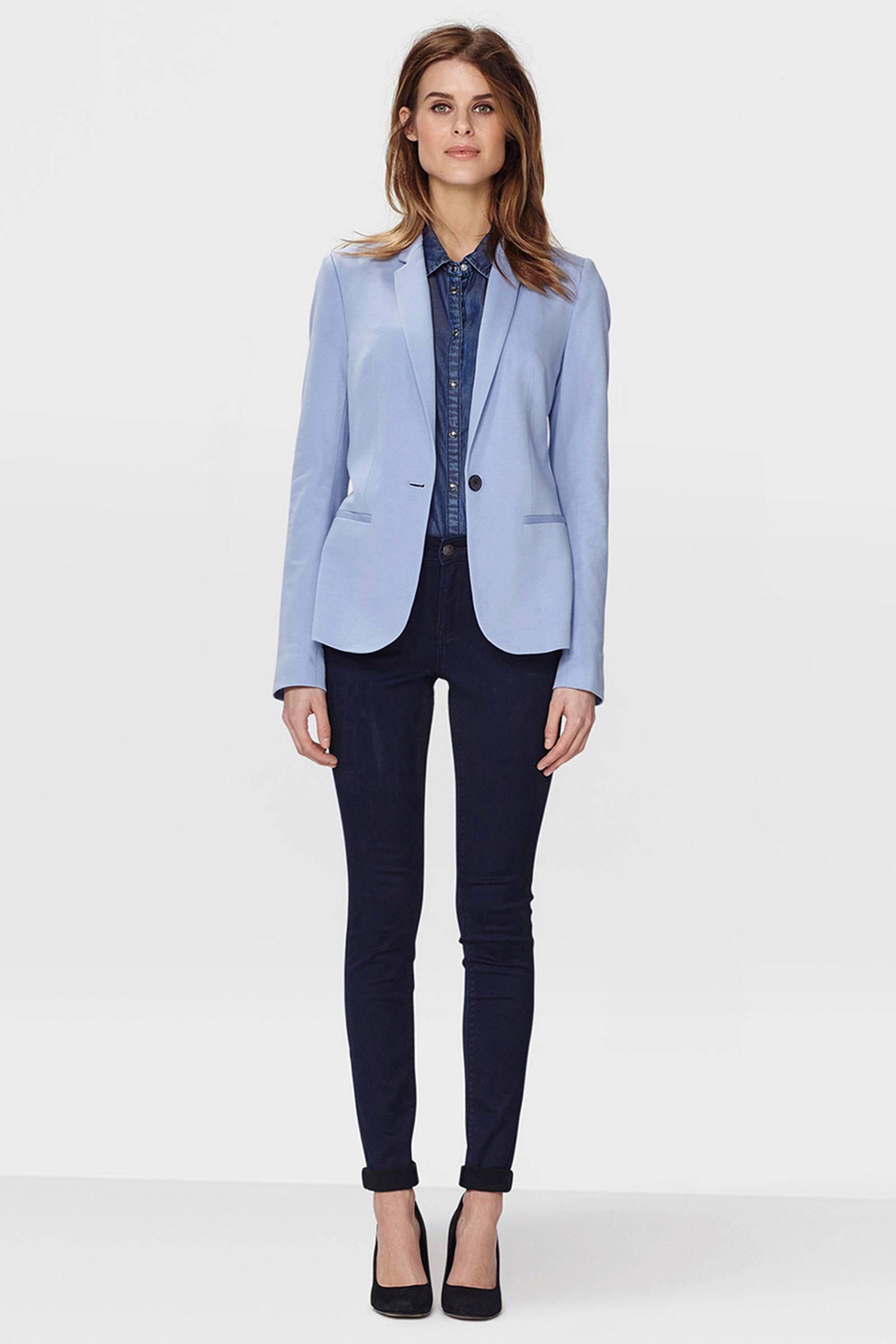 WE Fashion jersey blazer lavendel | wehkamp