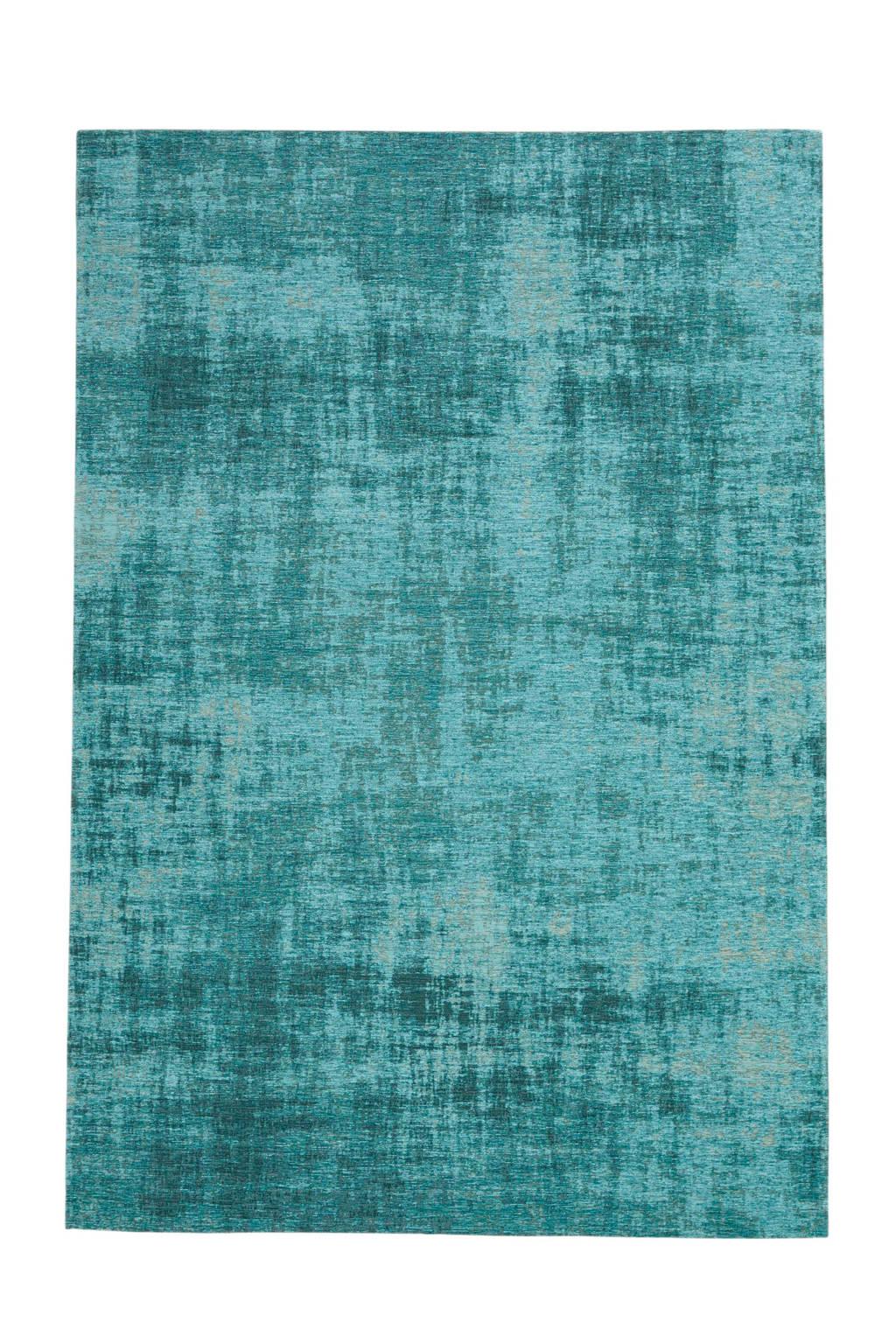 Vloerkleed  (230x155 cm), Blauw gemeleerd