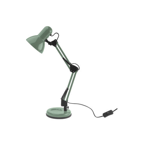 Bureaulamp Hobby Staal Jungle Groen Leitmotiv