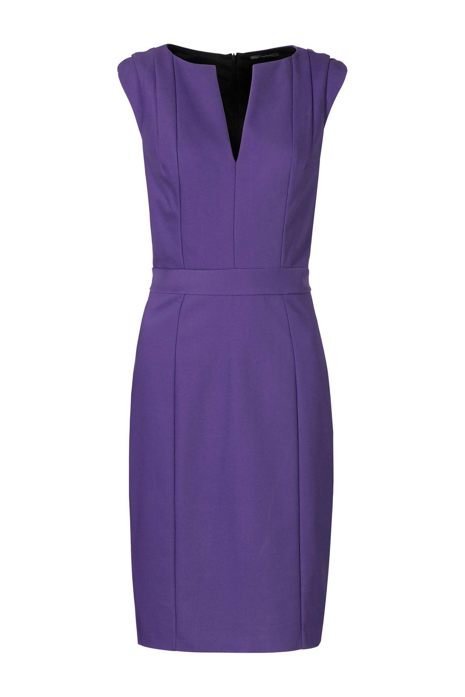 steps paarse jurk