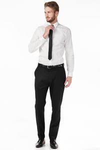 Selected homme zijden stropdas, Zwart