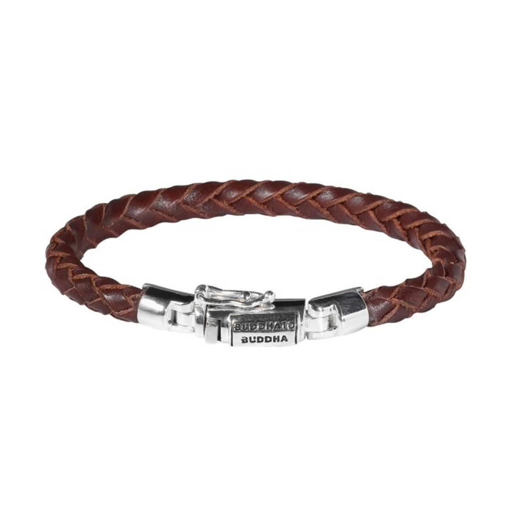 Buddha To Buddha Armband Leer.Ben Junior Leren Armband