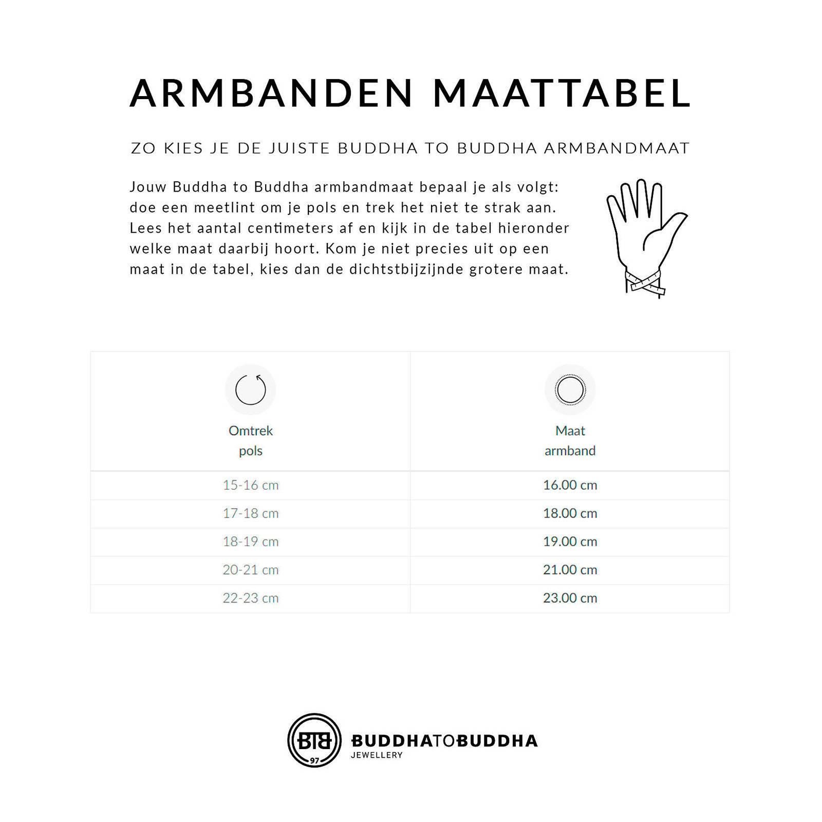 27ebfde7ecd2b4 Buddha To Buddha Katja XS armband | wehkamp
