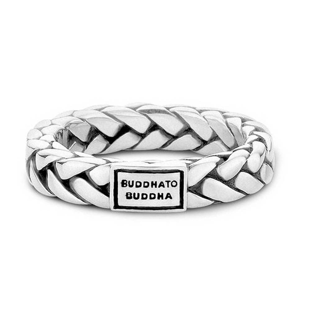 Buddha To Buddha George Small zilveren ring, Zilver