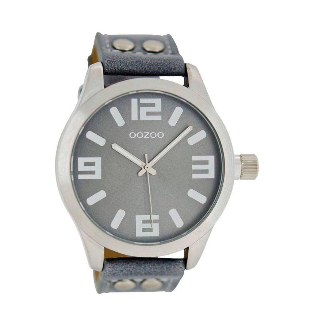 OOZOO Timepieces horloge - C1060, Zilver