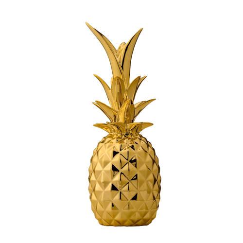 Bloomingville Ornament Ananas 24 cm Goud