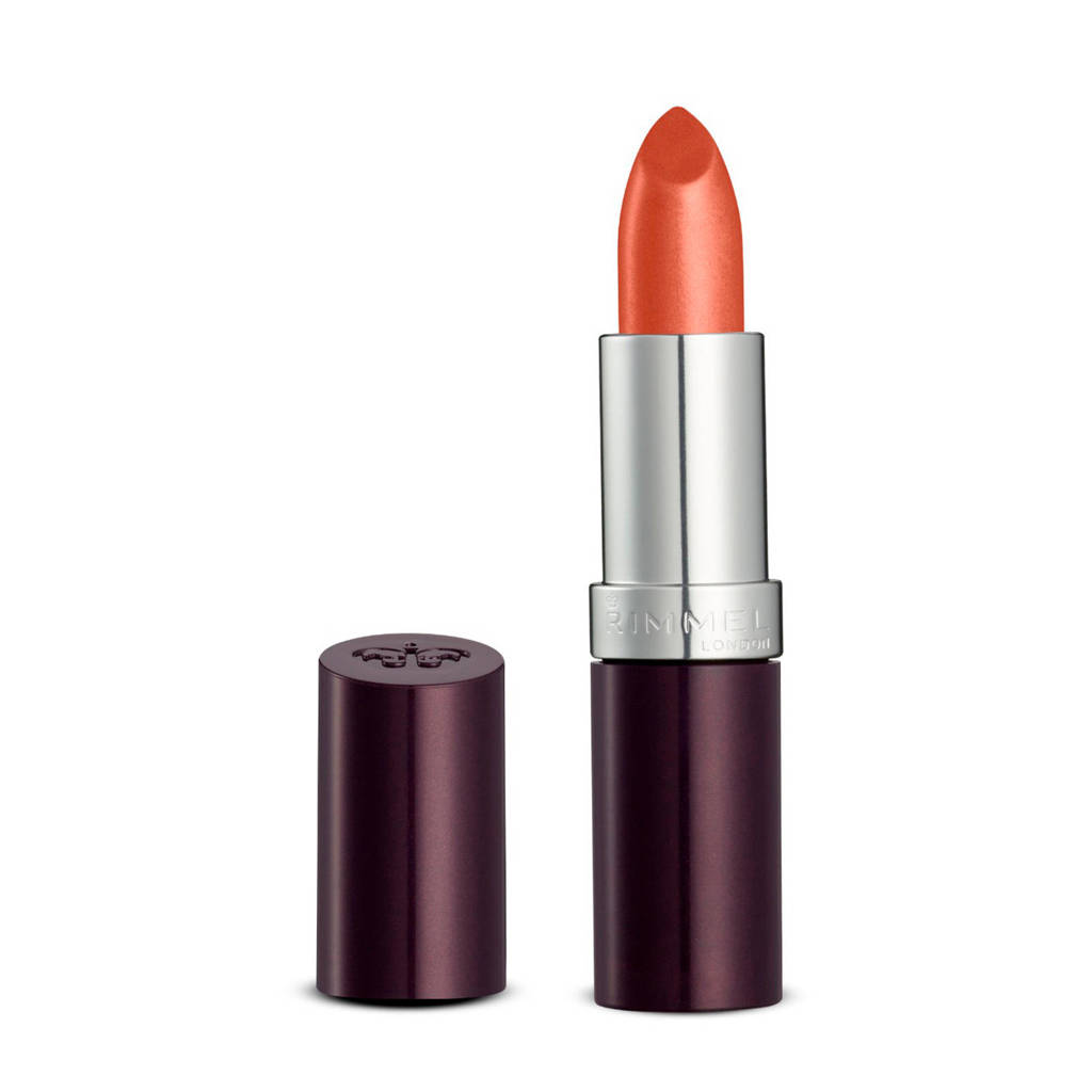 Rimmel London Lasting Finish Lipstick 210 Coral In Gold, 210 Coral in Gold
