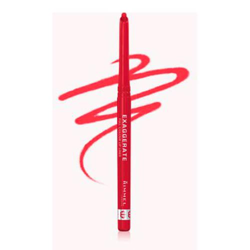 Rimmel London Exaggerate Full Volume Colour lippotlood - 024 Red Diva