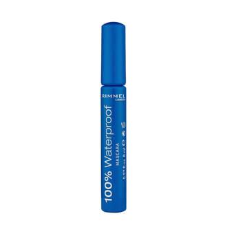 100% waterproof mascara - 001Black