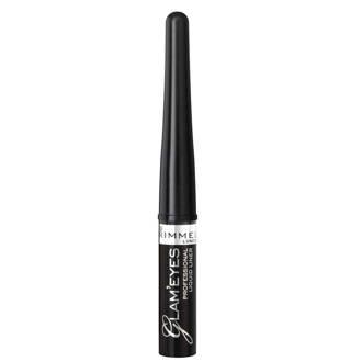 Glam'Eyes Professional  Liquid eyeliner - 001 Black Glamour