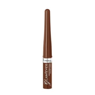 Glam'Eyes Professional  Liquid eyeliner - 002 Velvet Brown