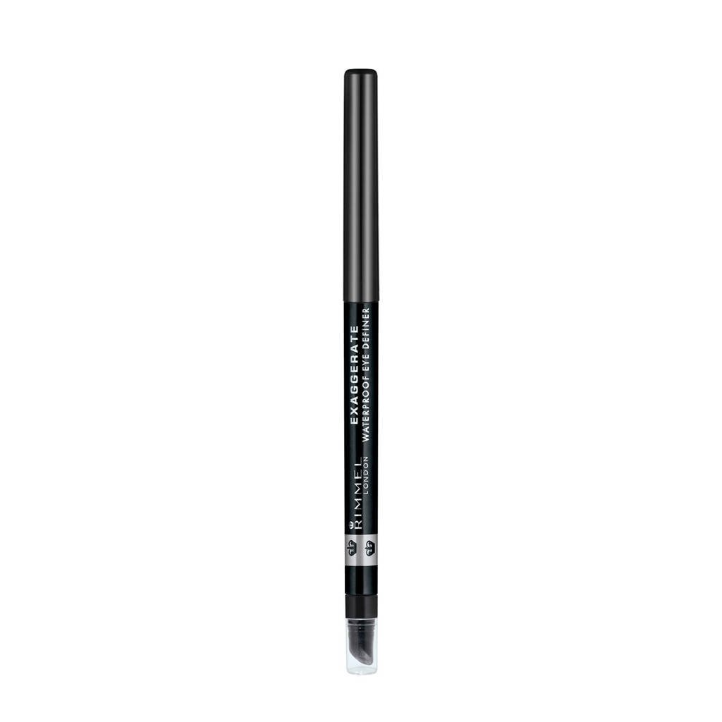 Rimmel London Rimmel London Exaggerate Full Colour Eye Definer Oogpotlood - 261 Black, Zwart