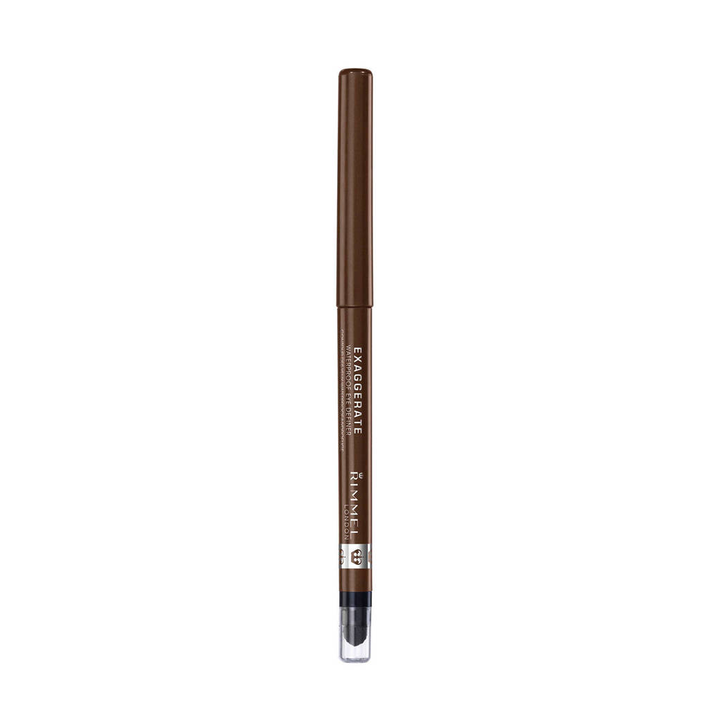 Rimmel London Exaggerate Full Colour Eye Definer Oogpotlood - Rich Brown - Beige-Brown, 212 Rich Brown