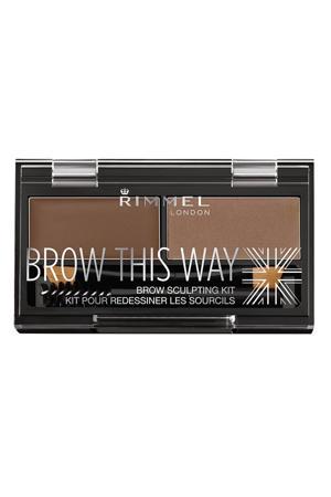 Brow this way wenkbrauwpoeder kit - 002 Brown