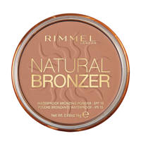 Rimmel London Natural Bronzer Powder 21 Sunlight, 021 Sunlight