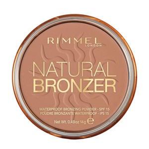 Rimmel London Natural Bronzer Bronzing Powder - 21 Sunlight
