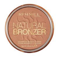 Rimmel London Natural Bronzer Powder 27 Sun Dance, 027 Sun Dance
