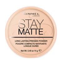 Rimmel London Stay Matte Pressed Powder 003 Peach Glow Poeder 14 g