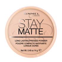 Rimmel London Stay Matte Pressed Powder gezichtspoeder - 005 Silky Beige