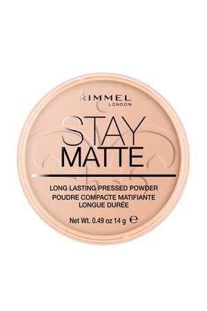 Stay Matte Pressed Powder gezichtspoeder - 005 Silky Beige