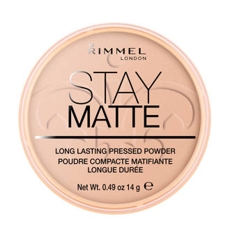 Stay Matte Pressed Powder gezichtspoeder - 005 Silky Beige