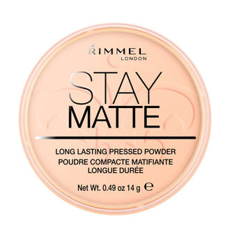 Stay Matte Pressed Powder gezichtspoeder - 006 Warm Beige