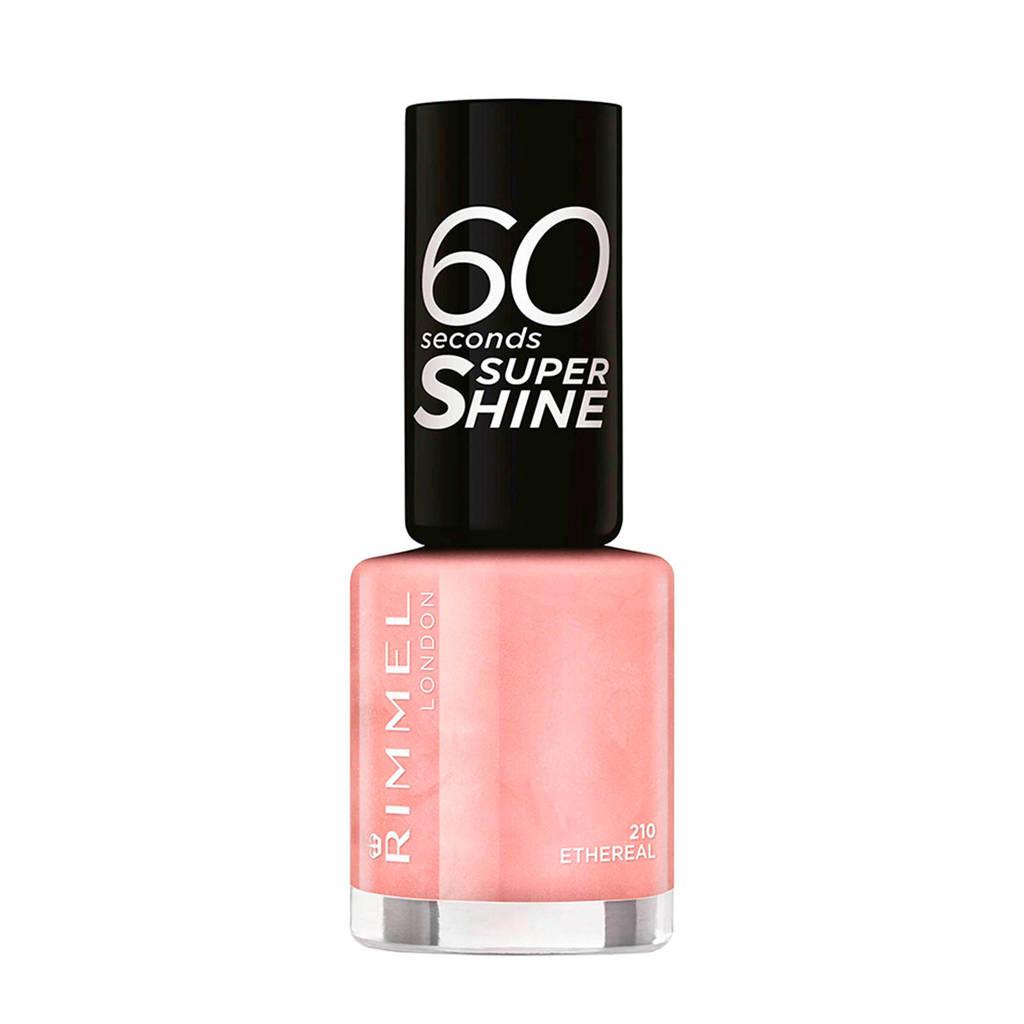 Rimmel London 60 Seconds Super Shine nagellak - 210 Etheral