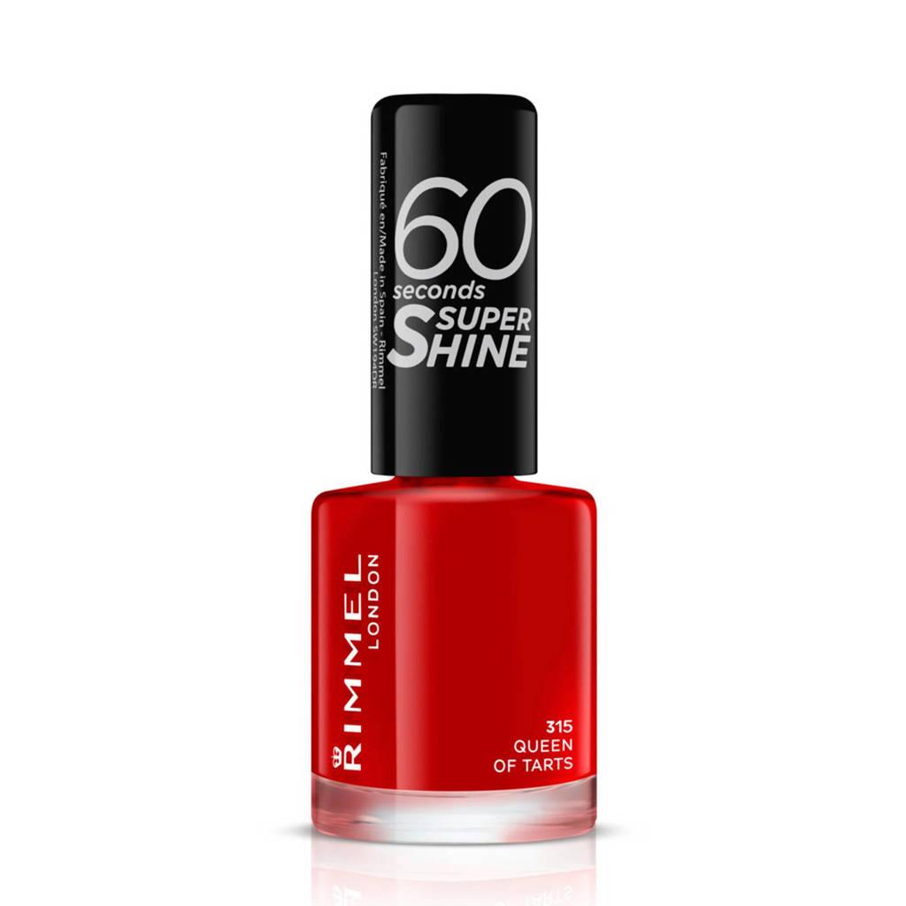 Rimmel London 60 Seconds Super Shine nagellak - 315 Queen Of Tarts