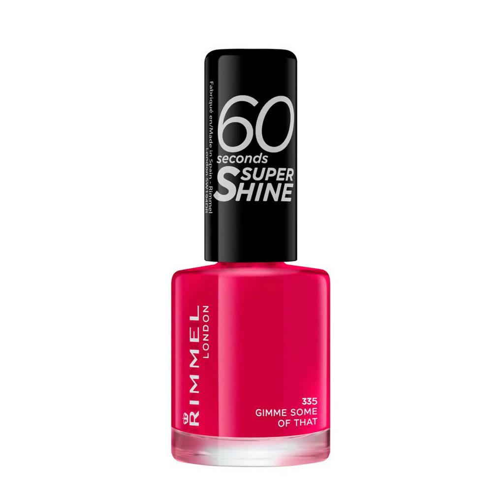 Rimmel London 60 Seconds Super Shine nagellak - 335 Gimme Some Of That