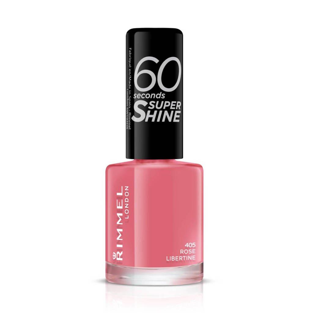 Rimmel London 60 Seconds Super Shine nagellak - 405 Rose Libertine