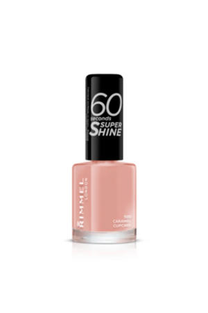 60 Seconds Super Shine nagellak - 500 Caramel Cupcake