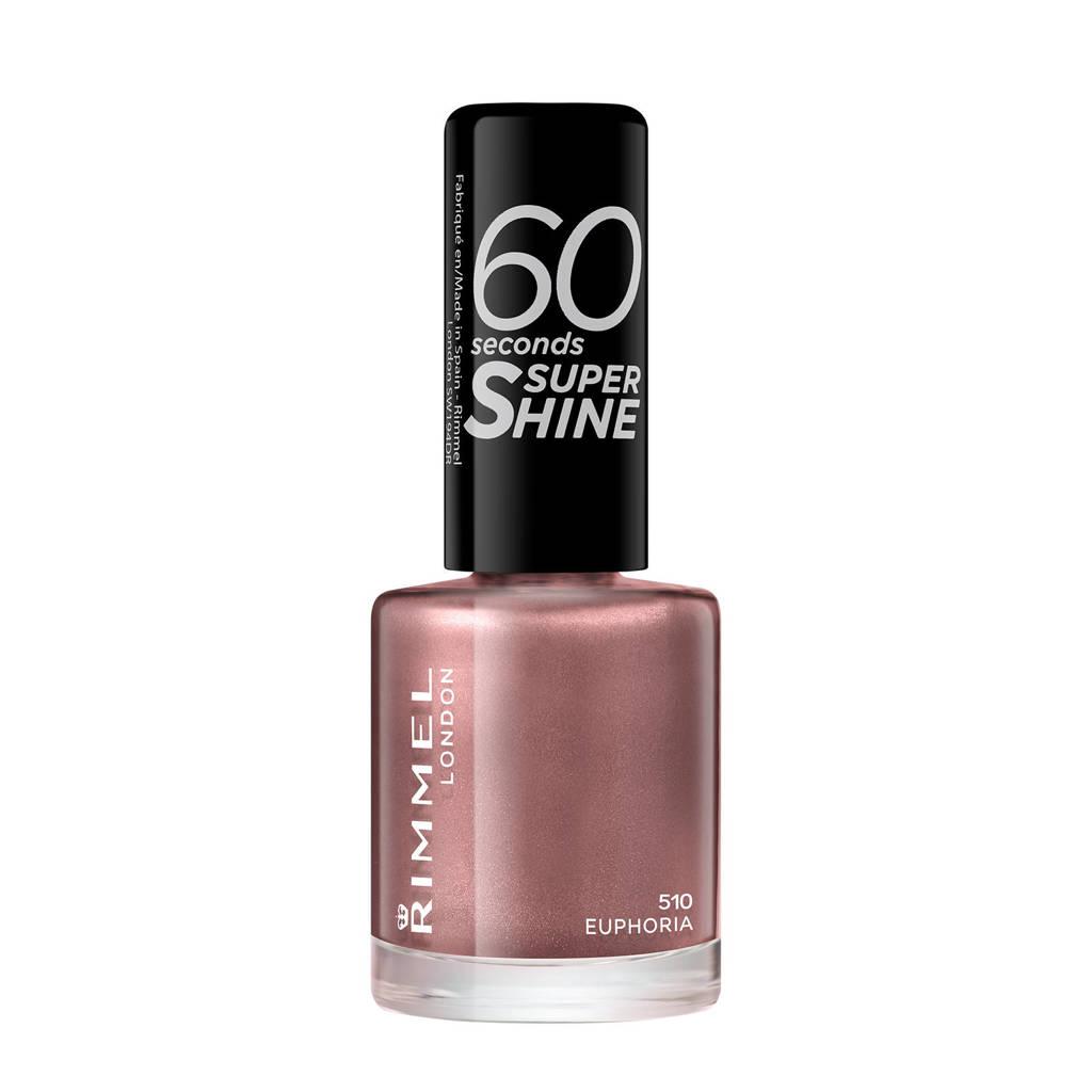 Rimmel London 60 Seconds Super Shine nagellak - 510 Euphoria