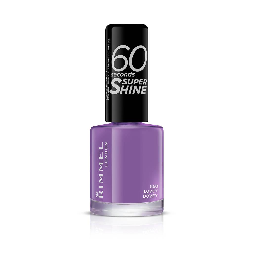 Rimmel London 60 Seconds Super Shine nagellak - 560 Love Dovey