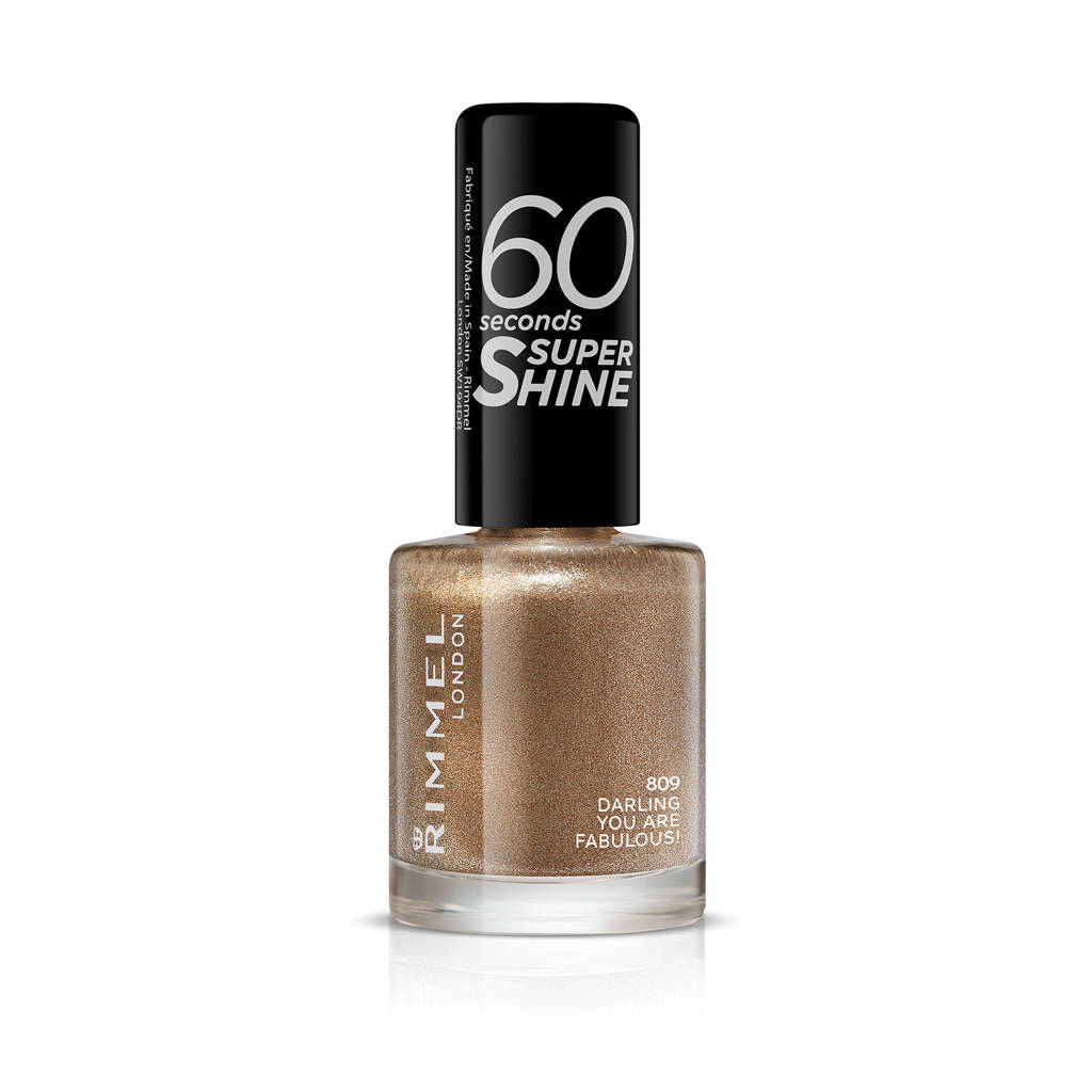 Rimmel London 60 Seconds Super Shine nagellak - 809 Darling, You Are Fabulous!
