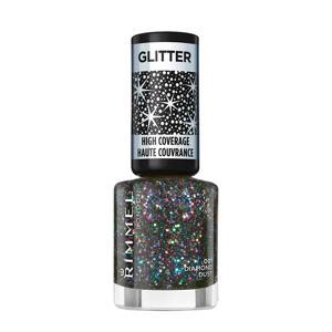 Glitter High Coverage nagellak - 1 Diamond Dust