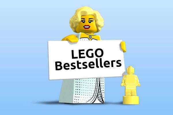 lego bestsellers