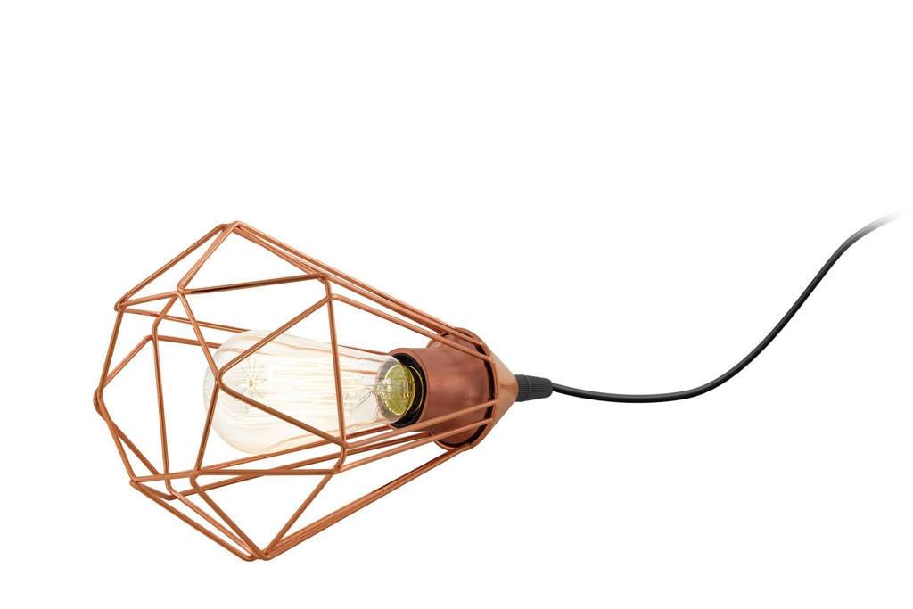 EGLO tafellamp Tarbes, Zwart/koper