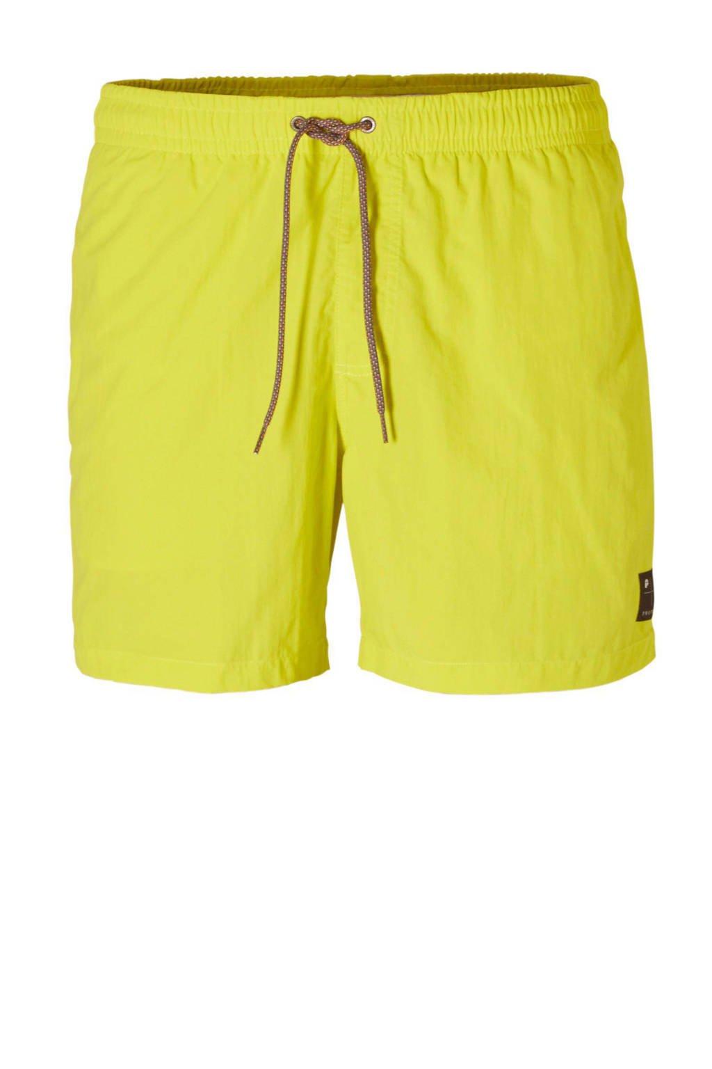 Protest zwemshort, Neon geel