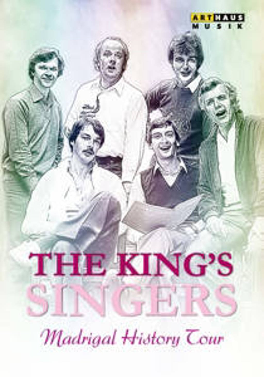 Jackman,Mason,Hume - The King's Singers  Madrigal Histor (DVD)