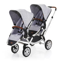 ABC Design Zoom Air duo kinderwagen graphite grey