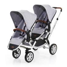 Zoom Air duo kinderwagen graphite grey