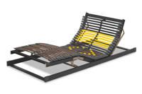 Beter Bed lattenbodem Bossflex 600 elektrisch, Antraciet/geel